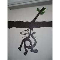 Duvarımda Maymun Var