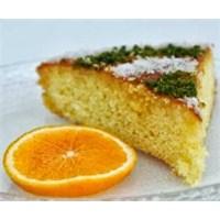 Portakallı Sünger Kek
