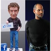 Steve Jobs Ve Mark Zuckerberg Oyuncakları