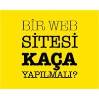 Bir Web Sitesi Kaça Yapılmalı?