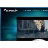 Panasonic 3d Dünyası Başlıyor