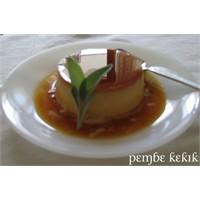 Portakal Aromalı Krem Karamel