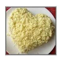 Muzlu Kalp Pastası