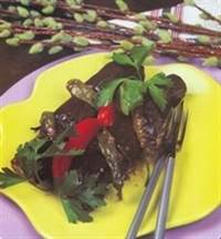 Dizme Patlıcan Kebabı Tarifi