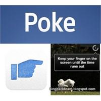 """Facebook' Un Yeni Mobil Uygulaması """"Poke"""""""