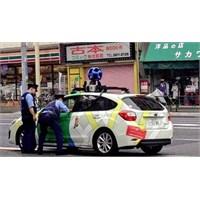 Google Aracını Japon Polisi Kenara Çekti