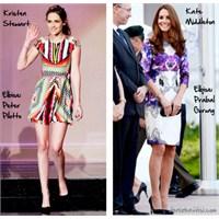Ünlü Stil: Baskılı Elbiseler