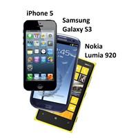İphone 5 Vs Samsung Galaxy S3 Vs Nokia Lumia 920