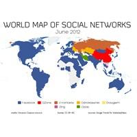 Dünya Sosyal Ağlar Haritası