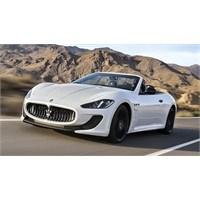 Maserati Grancabrio Mc Gün İşığına Çıktı