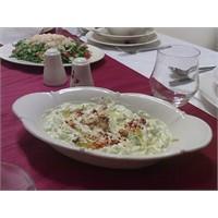Cevizli- Yoğurtlu Kabak Salatası