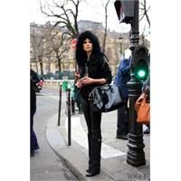 Paris Moda Haftası'ndaki Modellerin Sokak Stilleri