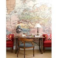 Harita Kaplı Duvarlar