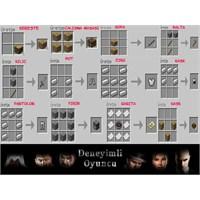 Minecraft Rehber : Bazı Eşyaların Üretimi