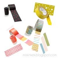 Dekoratif Kağıt Bantlar Washi Tape
