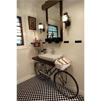 Bisiklet Banyo Mobilyası