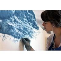 Pastel Boyalar İle Buzdağları Çizmek