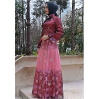 Tesettürde Abiye Elbise Modelleri