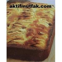 Elma Dilimli Ve Tarçınlı Kek