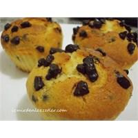 Çikolatalı Muffin İzmirdenlezzetler