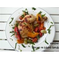 Tarçınlı Biberli Tavuk