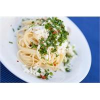 Beyaz Peynirli Yassı Spagetti