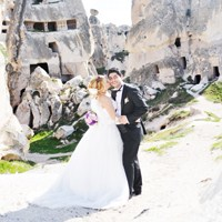 Kapadokya'da Düğün Fotoğrafı Çekmek...