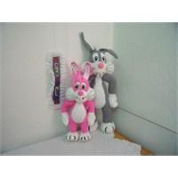 Pembe Bugs Bunny 2 (Knitt Toys)