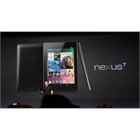 Google Nexus 7 İncelemesi