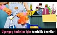 Üşenen Kadınlar İçin Temizlik Önerileri