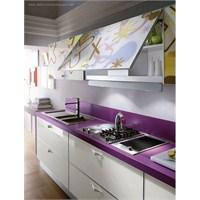 Yeni, Modern, Desenli Mutfak Dolabı Modelleri