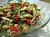 Elmalı Tavuk Salatası