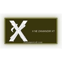 Matematikteki X Harfi