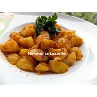 Kahvaltılık Baharatlı Minik Taze Patates Kavurması