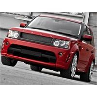 Kahn Design Range Rover Sport Red Ranger