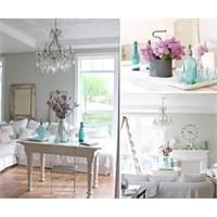 Beyaz Ve Açık Pastellerle Dekorasyon