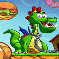 Feed That Dragon Miniclip Eğlenceli İphone Oyunu
