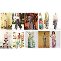 Trend Dosyası: Desenli Bol Pantolonlar
