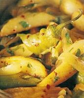 Soğanlı Patates Tavası