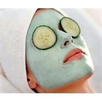 Akne Ve Sivilceler İçin Salatalık Maskesi