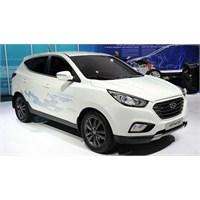 2012 Hyundai İx35 Fuel Cell Yollara Çıktı