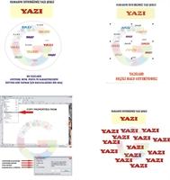 Copy Properties From (vektörel Çizimleri Aynı Yapm