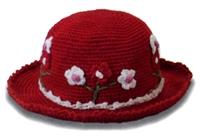 Çiçekli Şapka Ve Yapımı
