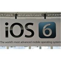 Apple İos 6'nın Tanıtımını Yaptı