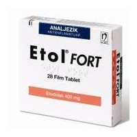 ETOL FORT 400 MG 28 FİLM TABLET