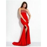 En Trend Kırmızı Abiye Elbise Modelleri