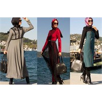 Aramıss 2014 Tesettür Elbise Modelleri