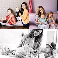 Ünlüler Ve Çocukları: Jessica Alba Ve Kızları