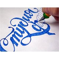 Elle Çizilen Tipografik Logolar