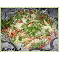 Kremalı Bahçe Salatası